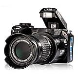 Digital SLR Camera 16MP 3.0-Inch LCD Full-HD With 16X Optical Zoom Telephoto ...