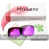 Mryok 4 Pair Polarized Replacement Lenses for Spy