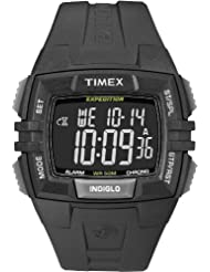 Timex Mens T49900GP Expedition Chrono Alarm Timer White Resin Strap Digital Dial Watch