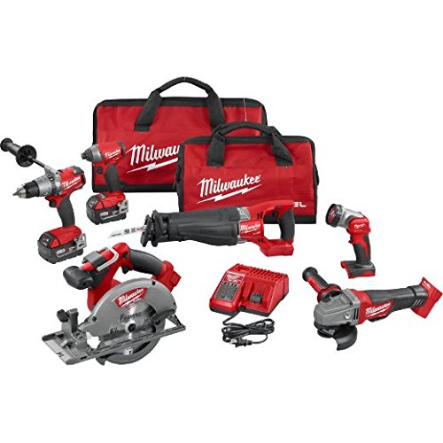 Milwaukee 2896-26 M18 Fuel 6-tool Combo Kit by Milwaukee