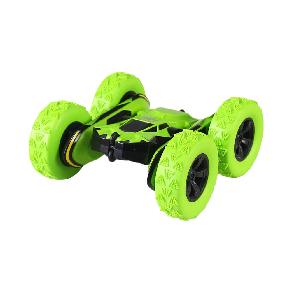 RONSHIN 1:28 2.4Ghz Professional Remote Control Stunt Car 360 Rotating Somersaulting Vehicle Toy Gift USB Charging