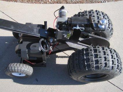 Heavy Duty Powered Motorized Trailer Dolly 12 Volt Deep