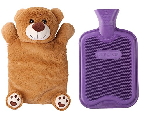 stuffed animal hot water bottle - 1