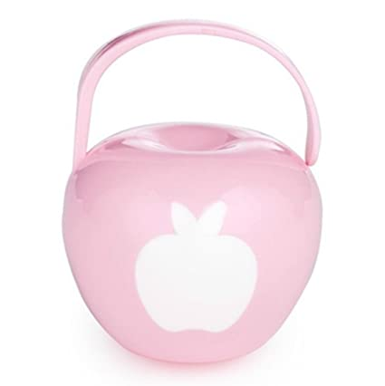 Cajita Para Chupete Portachupetes (Protector Chupete) Rosa Pink A ...