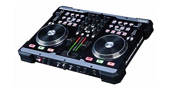 American Audio VMS2 Controlador MIDI 2 Canal [1], revestido ...