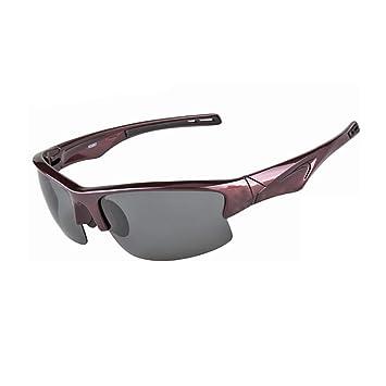 JIAAE deportes al aire libre gafas de sol polarizadas ciclismo y conducción anti-UV Lentes