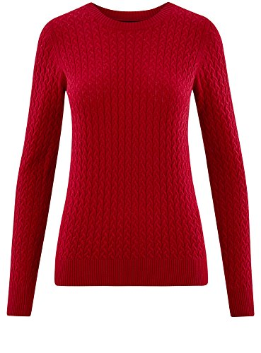 Femme Textur Collection en Maille oodji Pull OxawpqZn5