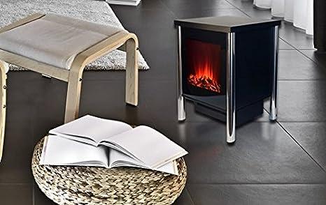 Chemin Arte 101/Fire Steel chimenea decorativa el/éctrica