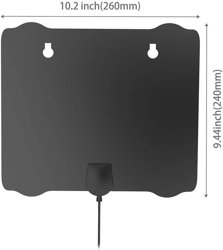 Support 4K 1080p // All Older Digital TV Detachable Amplifier Signal Booster Digital Antenna for TV Amplified HD Digital TV Antenna TV Antenna Indoor with Long 120+ Miles Range