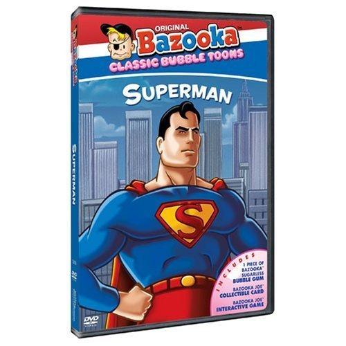 Bazooka Set - Bazooka Classic Cartoons: Superman by Genius Products / Gaiam / Sunset Home Visual Enter by Gaiam