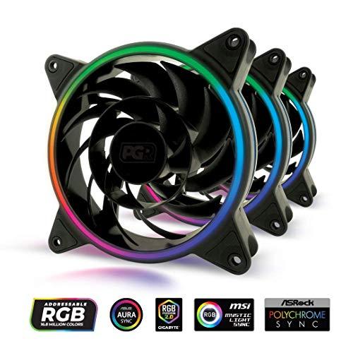 Hub PGR Illuma FK301-120mm - Addressable RGB - Triple Light