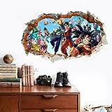 Dragon ball Z wall decal boys bedroom wall decor mural removable dragonball Goku wall print