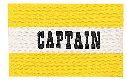 New Champion Adult Senior Soccer Captains Arm Band Fits Most Ages 13 & Up Yellow ()