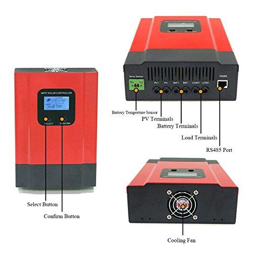 KRXNY 40A MPPT Solar Charge Controller DC 12V/24V/36V/48V Auto Battery Regulator PV 150V Input RS485 Communication by KRXNY (Image #8)