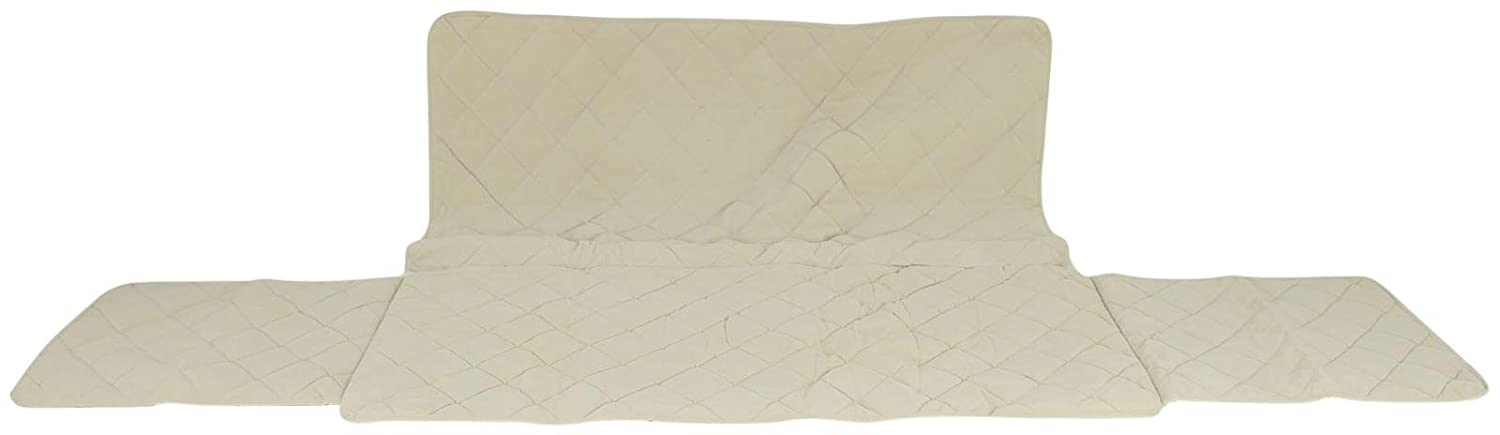 CPC Diamond Quilted Couch Predector, 72-Inch, Linen