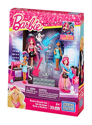 Camp Rock Dvd Game - Mega Bloks Barbie Build 'N Play Rock N' Royals Set