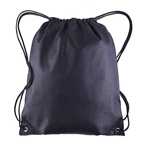 Pack of 25 - Non-Woven Promotional Drawstring Bags - Drawstring Backpack in BULK - String Backpack - String Bag - Drawstring Tote Bag - Cinch Bag - 13.5