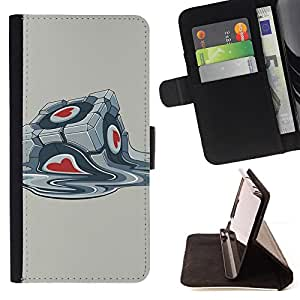KingStore / Leather Etui en cuir / Apple Iphone 5 / 5S / Portal Box