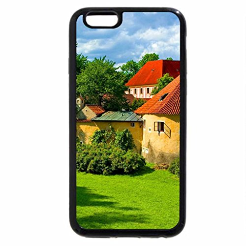 iPhone 6S / iPhone 6 Case (Black) Remains of old town