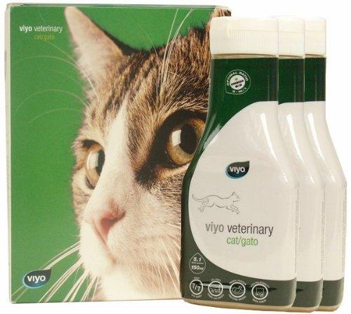 Viyo Veterinary for Cat (3 x 150 ml), My Pet Supplies