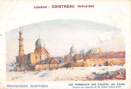 cario-egypt-tomb-of-califes-cointreau-antique-postcard-k19028