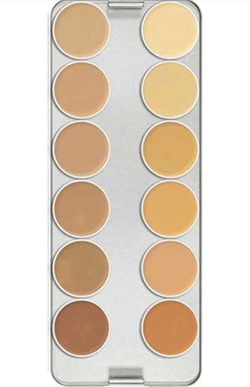 Amazon.com : Kryolan 1004 Supracolor Makeup Palette 12 Colors - TV (Brand New Color) : Beauty