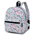 """Lightweight Travel Mini Backpack for Women and Teens (Beach White Small) 5 <p>MEDIUM size 15-inch backpack. Please note there are two sizes: small and medium. This medium-sized backpack is 15.5"""" tall x 11.5"""" wide x 6.3"""" deep. Binders, folders and laptop computers will fit. See pictures and description for reference and further details. POCKETS. Two side pockets for water bottles, sun-glasses, etc. Front zippered pocket for small items such as pens, phone, etc. Large main compartment with heavy-duty double zippers for big items such as laptop, binder, books, notebook, folder, and more. PERFECT for laptop. Convenient internal sleeve is ideal for a 14-inch laptop computer, tablet or iPad. Perfect fit for MacBook, MacBook Air or MacBook Pro 13-inch. Maximum laptop size is about 13-1/2"""" x 10"""" x 1"""" thick. DURABLE and PRACTICAL. Heavy-duty 600 denier oxford canvas exterior with padded back. 210 denier oxford interior lining. Adjustable foam-PADDED SHOULDER STRAPS fit all sizes from small teens to full-grown adults. OTHER USES: Lightweight carry on travel bag, ladies large backpack purse, cute preschool diaper bag, elementary school student bookbag, hiking, picnic etc.</p>"""