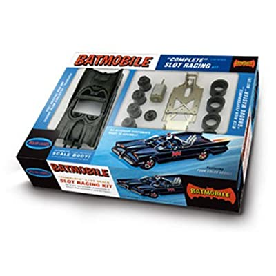 "1/32 '66 TV Batmobile Slot Car Race Kit by ""Round 2, LLC. Polar Lights"""