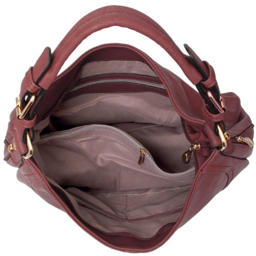 rosa Borsa Caspar Antico Spalla Taschen amp; A Donna Accessoires AHqR6qxgw
