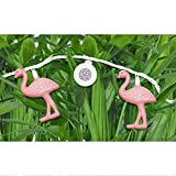 Bright Tunes Indoor/Outdoor Pink Flamingo LED