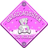 Star Shaped Personalised Baby//Child On Board Car Sign ~ Pink Sisters Fair