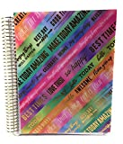 I AM A GOAL SLAYER With Many More Encouraging Quotes Spiral Planner by Recollections, Undated. (multicolored)