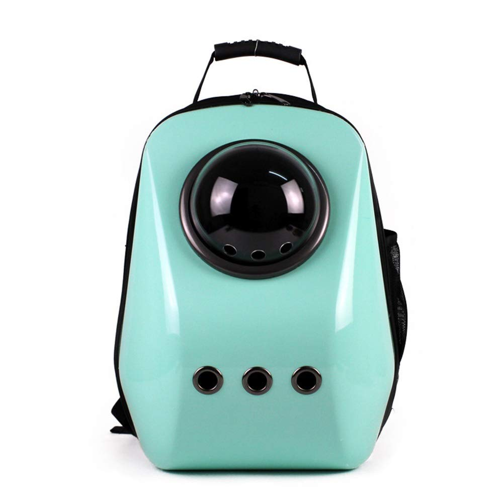 As-picture 352947CM As-picture 352947CM HYUE Pet Backpack Portable Breathable Space Capsule Dog Bag Outside Commodious Cat Backpack (color, Size   35  29  47CM)