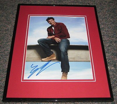 Ty Pennington Signed Framed 8x10 Photo Extreme Makeover Home Edition