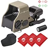 quick shot targets - Circuit City Sightmark Ultra Shot Plus Reflex Dark Earth Red/Green Dot Rifle Sight with 3 Microfiber Cleaning Cloths (SM26008DE)