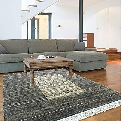 alfombras baratas 050B Alfombra Estilo Moderno, Ideal para Salones ...