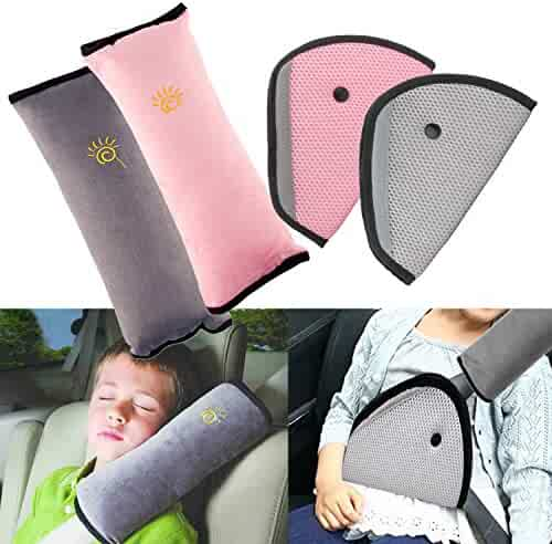 Fabulous Safety Headrest Neck Support Pillow Seat Belt Strap Cover Creativecarmelina Interior Chair Design Creativecarmelinacom