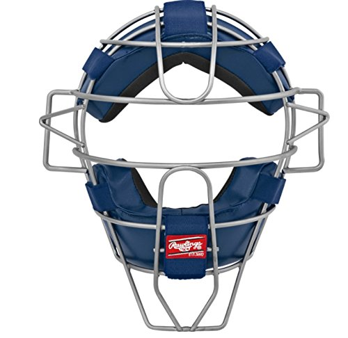 (Rawlings Ultra Lightweight Adult Catcher's Face Mask, Navy)