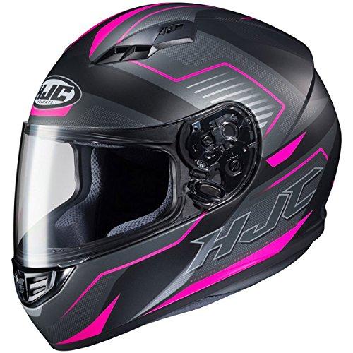 HJC Helmets Trion Women's CS-R3 Street Motorcycle Helmet - MC-8SF / (Ladies Hjc Motorcycle)