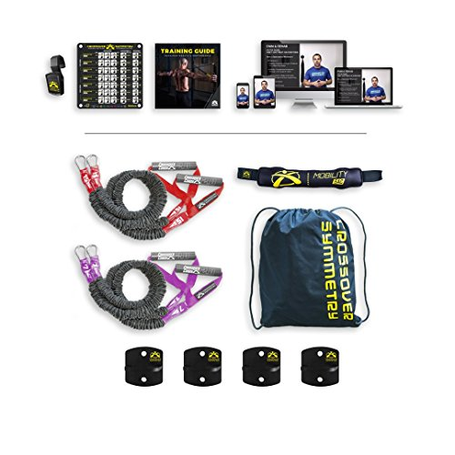 20 Tour Iron Set - Crossover Symmetry Athletic Individual Package with Wall Mounts – Shoulder Health and Performance System. Perfect for Crossfit, Warmups, Arm Care, Rotator Cuff Exercises or Rehab