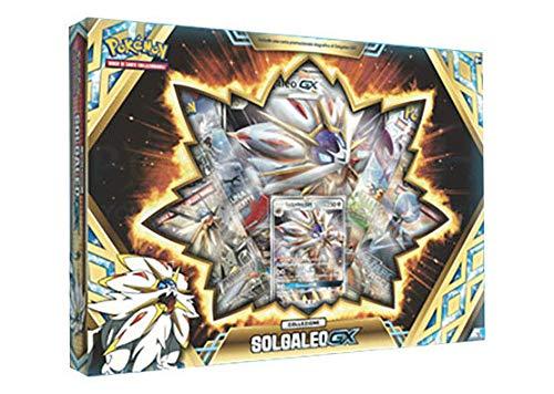 Amazon.com: Pokémon TCG Solgaleo GX Box + Lunala GX ...
