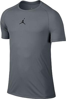 NIKE Michael Jordan - Camiseta para Hombre, Color Gris/Negro, Talla L: Amazon.es: Zapatos y complementos