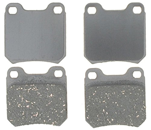 - ACDelco 14D709AC Advantage Ceramic Rear Disc Brake Pad Set
