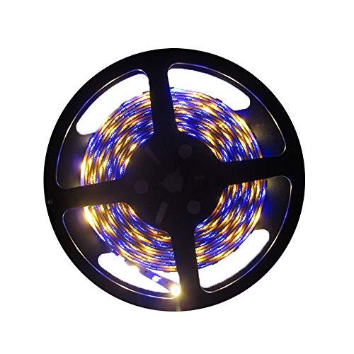 eTopxizu 16.4ft 5M SMD 5050 RGB NON-Waterproof Led Flexible Strip Ribbon Lamp 150 Leds LED Light Strip 30Leds/M