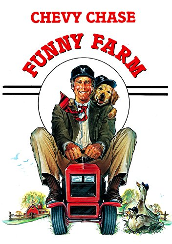 Funny Farm (1988) Movie Poster 24x36 inches Chevy Chase