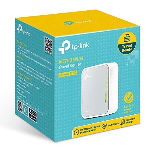 TP-Link AC750 Wireless Portable Nano Travel Router - WiFi