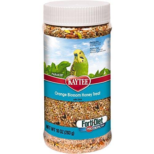 Kaytee Forti Diet Pro Health Orange Blossom Honey Bird Treats for Parakeets, 10-Ounce (Parakeet Orange Sticks)