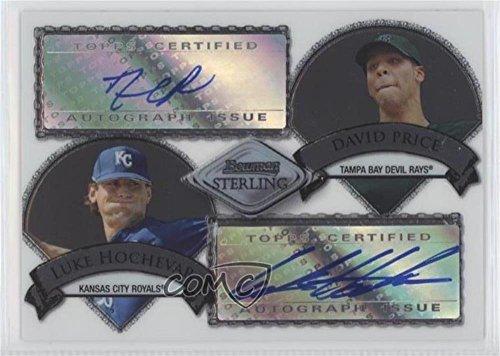 David Price; Luke Hochevar #64/275 (Baseball Card) 2007 Bowman Sterling - Dual Autographs - [Autographed] #BSDA-HP