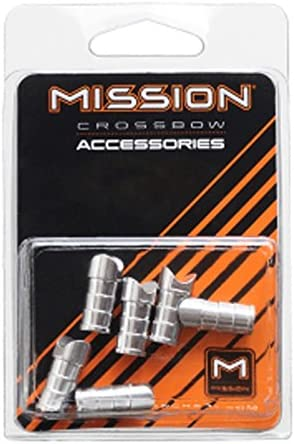 Mission MXB Aluminum Moon Nocks 6/pk.