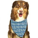 Greece Greek Flag Stylish Dog Bandanas P...